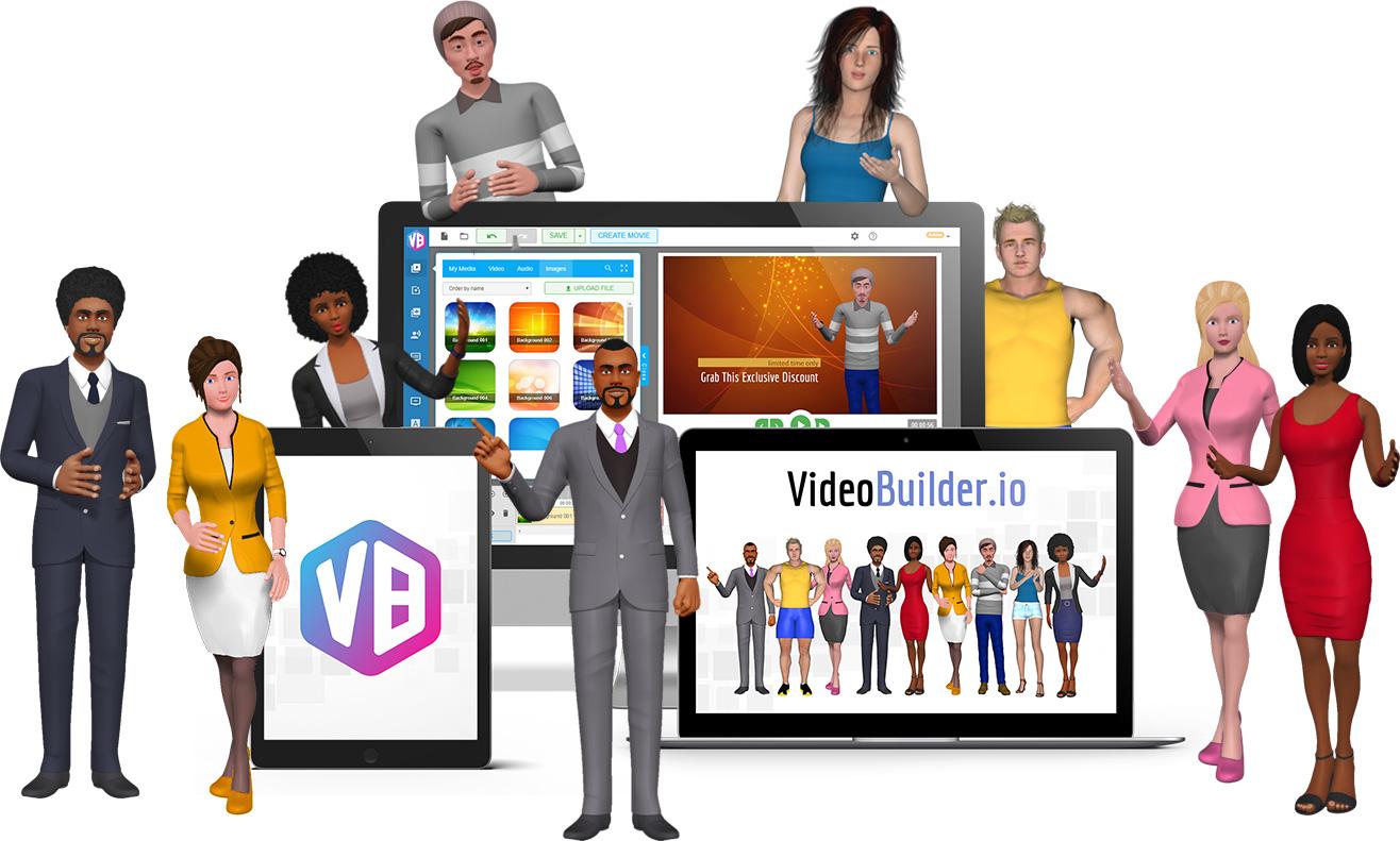 VideoBuilder Avatars